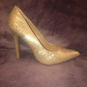 Size 9 Diba Rhinestone Stiletto Heels